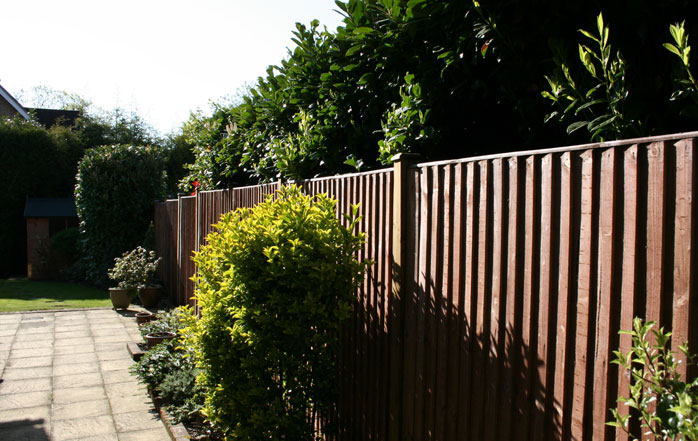 Garden Fencing In Chingford, London
